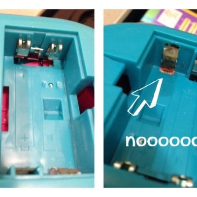 How Leaky Batteries Became Taboo at My House