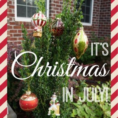 Christmas in July: Summertime is for GIVING too
