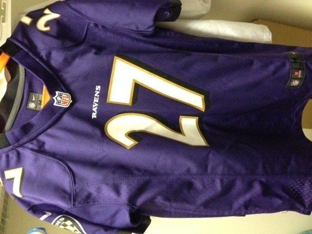 Ray Rice football jersey