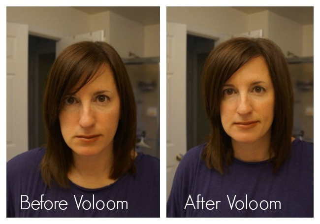 Before and After Voloom