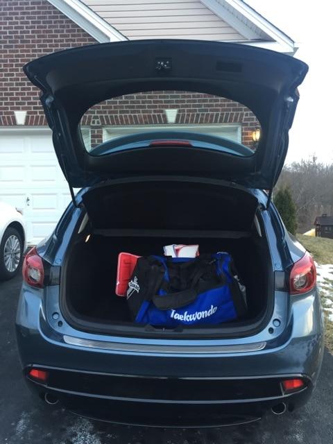 Mazda3 storage