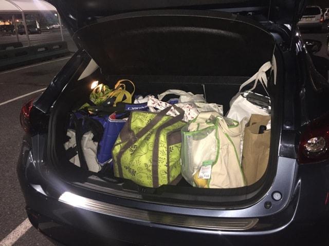 Mazda3 groceries