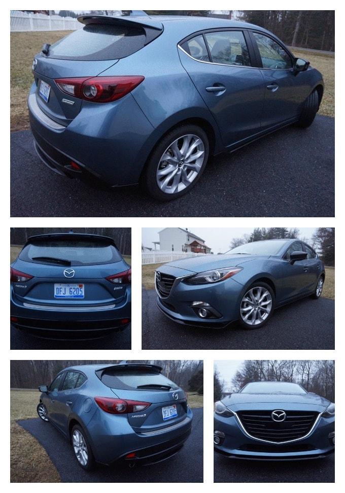 Mazda3 collage