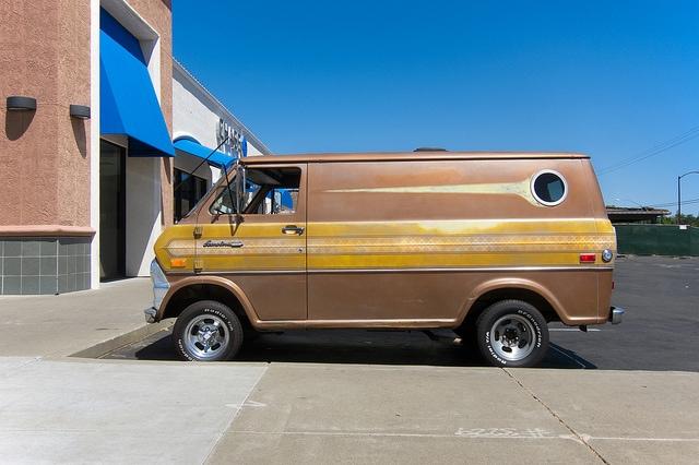 creepy van