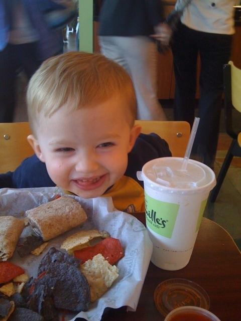 Evan at 4