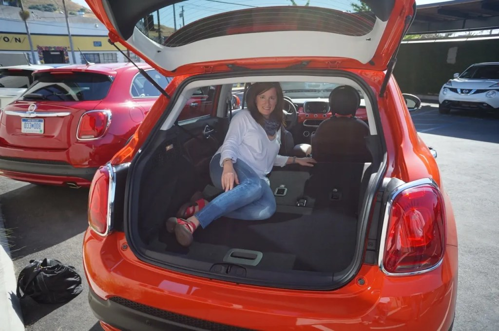 Fiat 500X cargo space