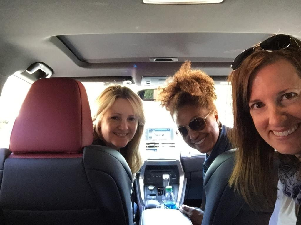 Ladies in the Lexus NX