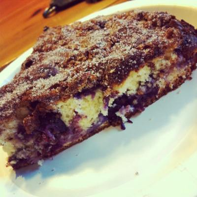 A Blueberry Coffee Cake to Die For