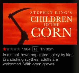 Children of the Corn on Netflix