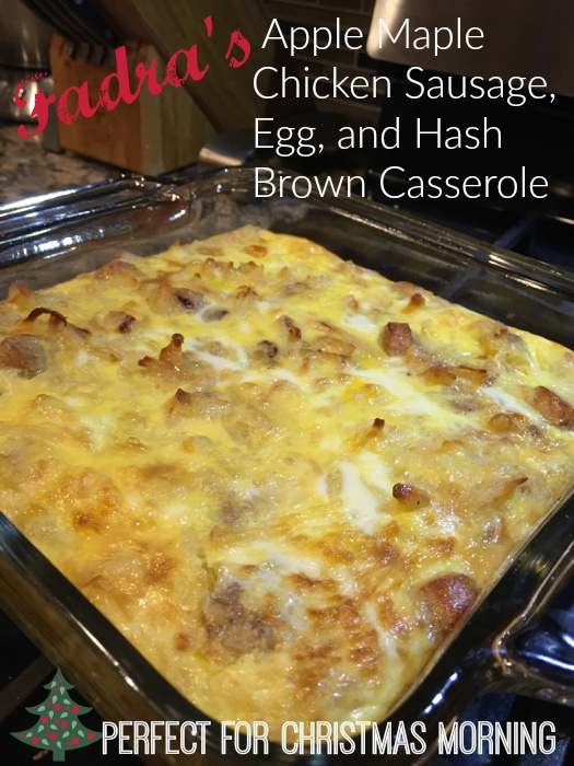 Sausage, Egg, and Hash Brown Casserole
