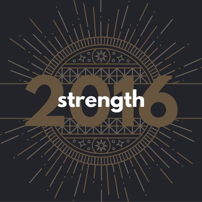 Strength in 2016