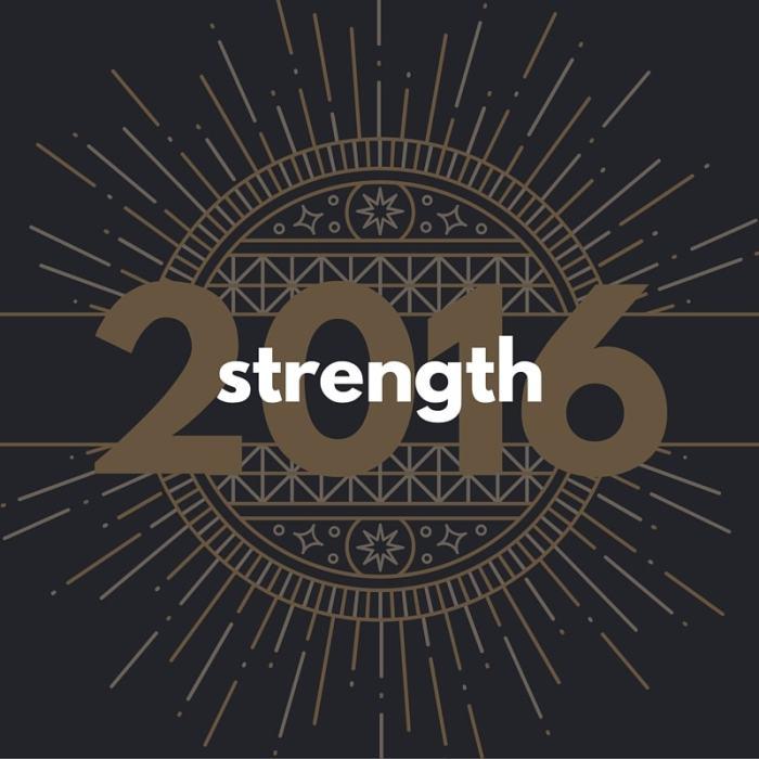 Strength in 2016