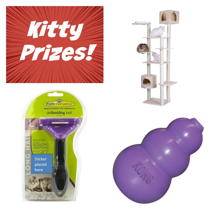 Purina Pure Love for Pets cat prizes