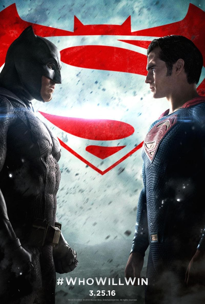 Batman v Superman- Dawn of Justice movie poster