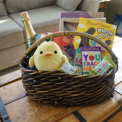 Making a Grown-Up Easter Basket