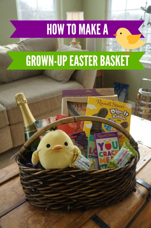 Making a grown up easter basket all things fadra how to make a grown up easter basket negle Gallery