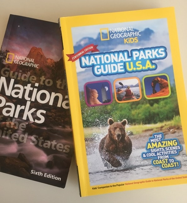 National Parks guides from National Geographic