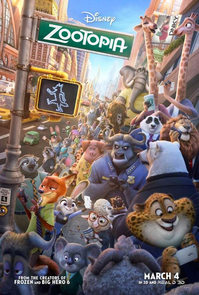 Zootopia movie poster