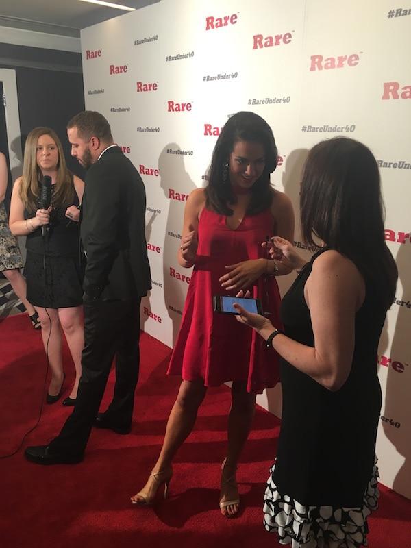 Fadra Nally and Allie Curtis - Rare Under 40 Awards