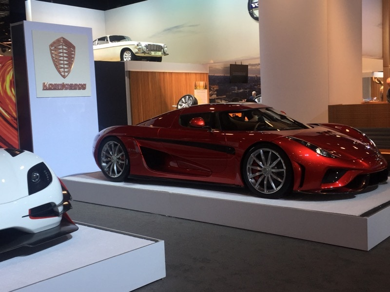 Koenigsegg - NYIAS
