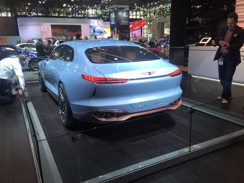Genesis New York concept - exterior