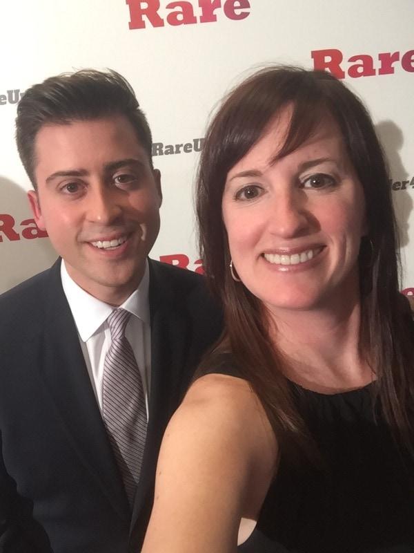 Fadra Nally and Beto Altamirano - Rare Under 40 Awards