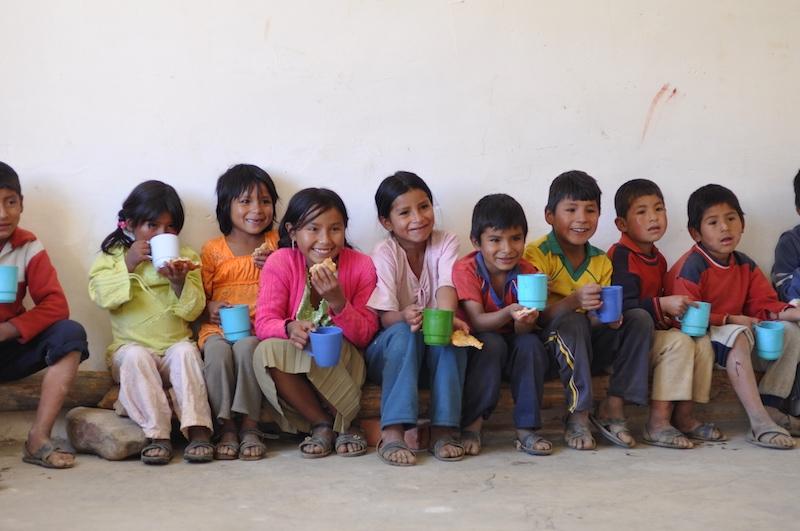Sharing A Sweet Future with Bolivian schoolchildren