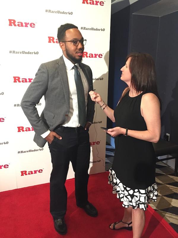 Orlando Watson and Fadra Nally - Rare Under 40 Awards