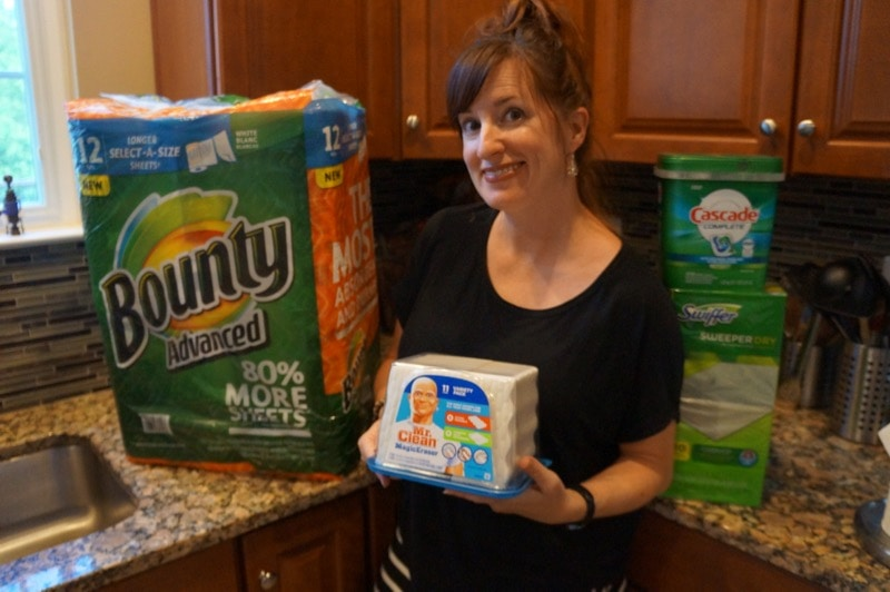 P&G Household Needs products from Costco