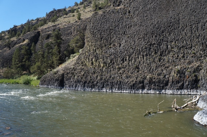 Chimney Rock along the Crooked River