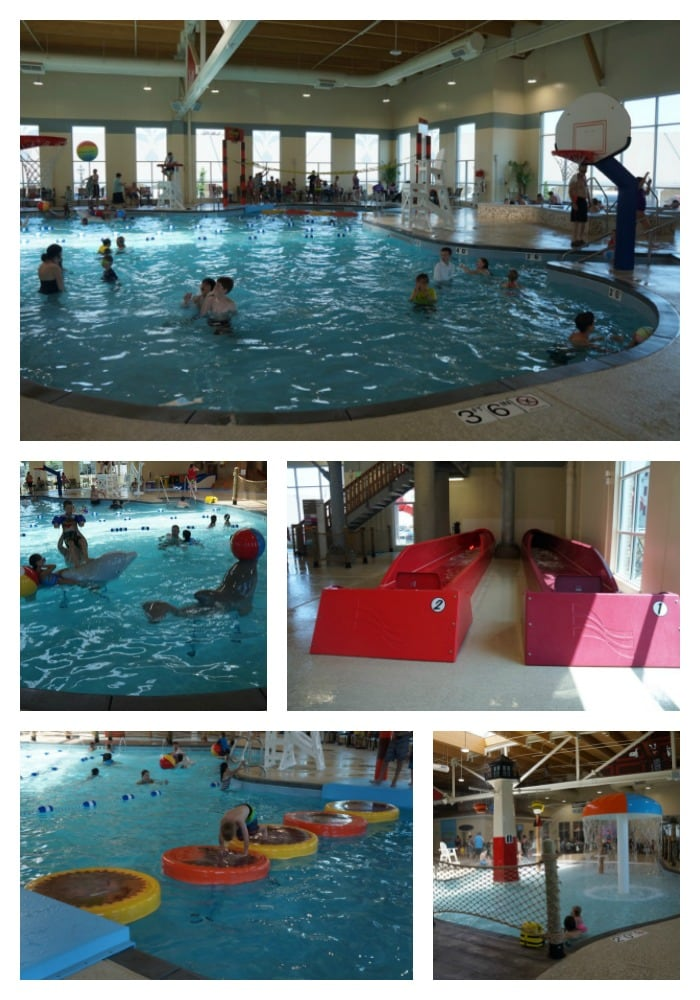 Hershey's Water Works - splash areas for kids of all ages