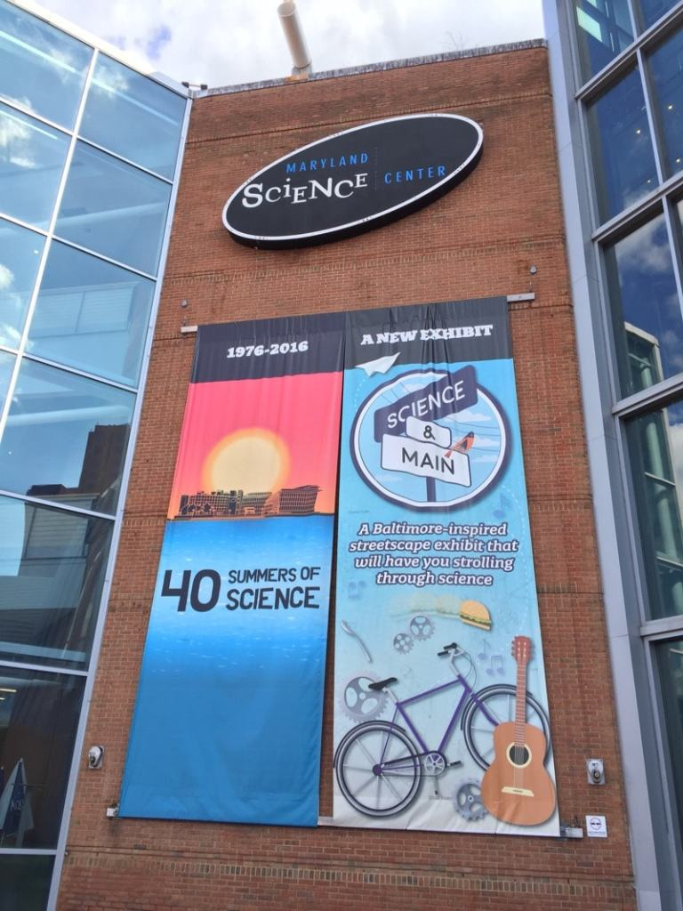 Maryland Science Center in Baltimore celebrates 40 years