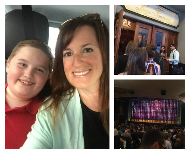 Going to a Broadway show