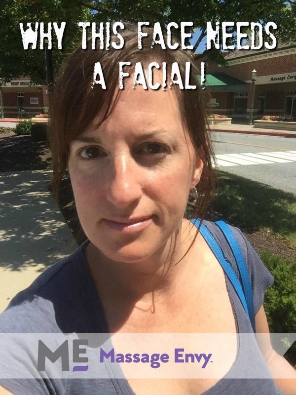 Massage Envy facial