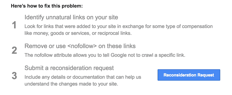 Correcting bad links on your site
