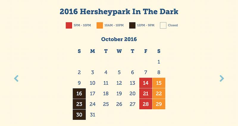 Hersheypark Fall Hours