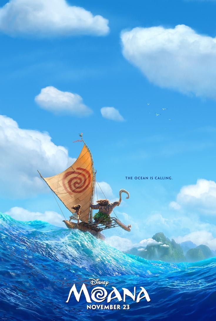 Moana Movie Poster