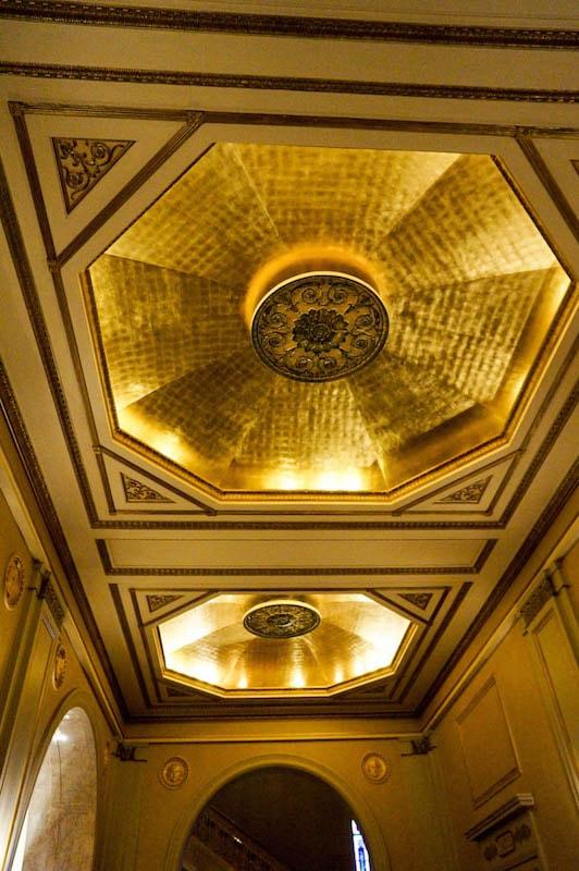 Gold leaf - Hershey Theatre
