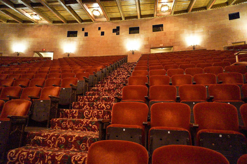 Hershey Theatre interior