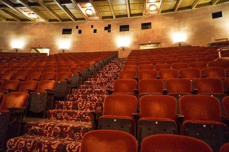 Hershey Theatre interior