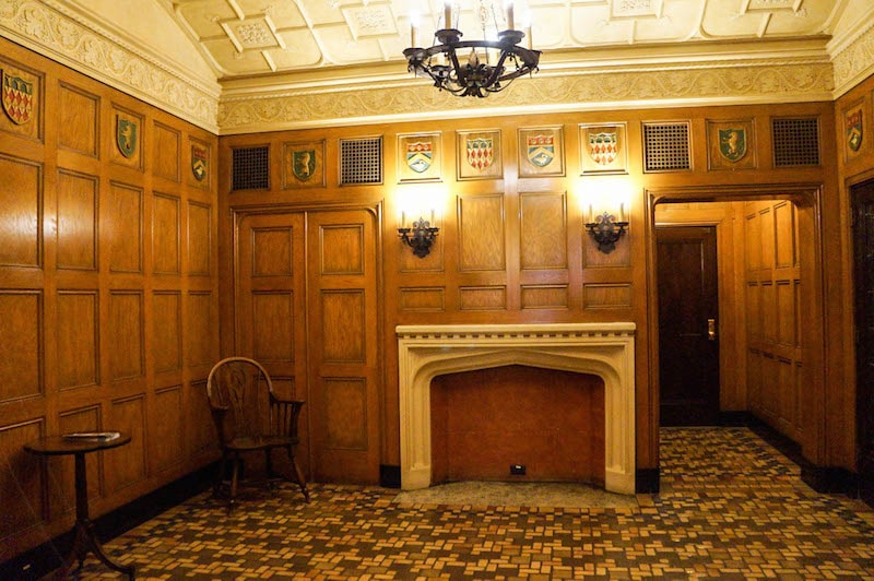 Mens Smoking Room - Hershey Theatre