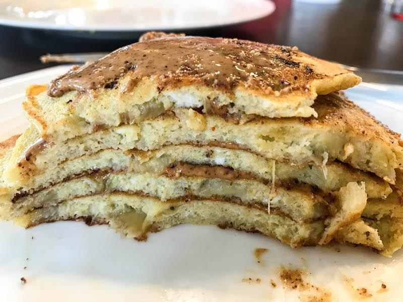 Whole30 Banana pancakes