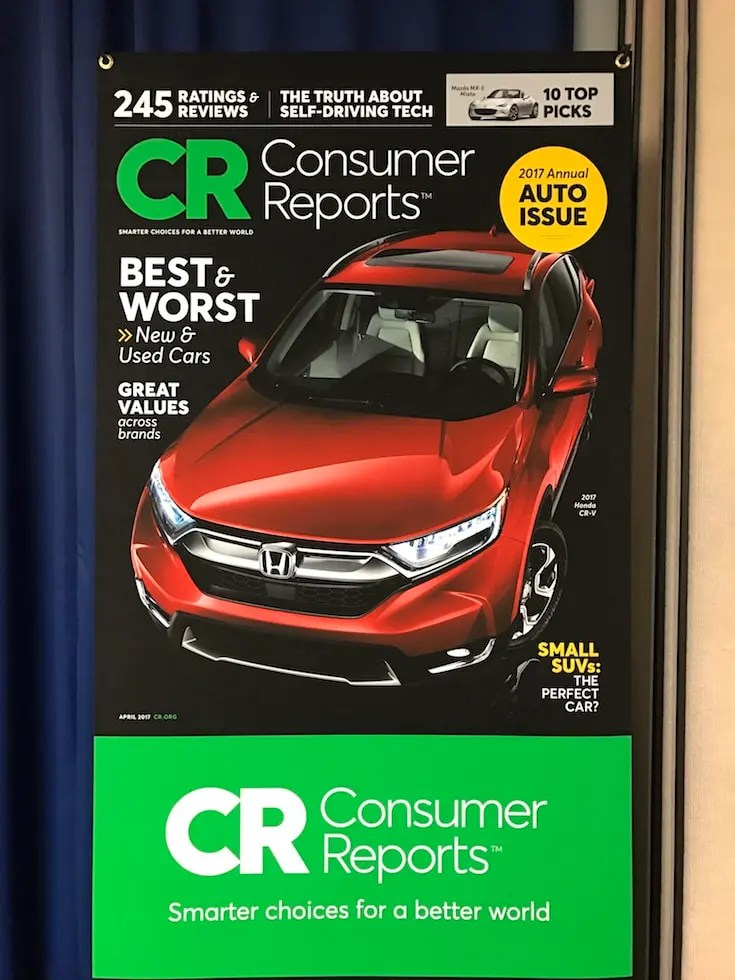Consumer Reports Annual Auto Issue