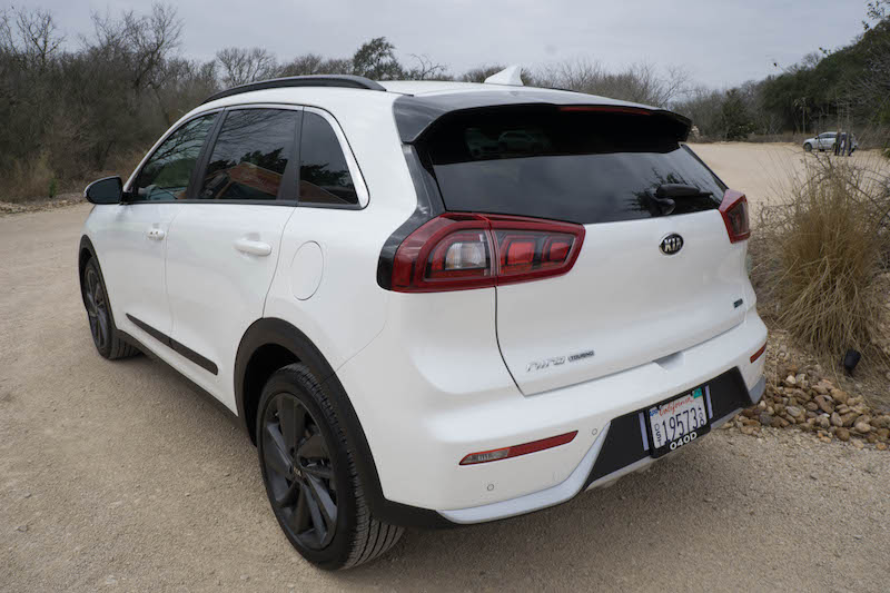 Kia Niro Launch Edition rear