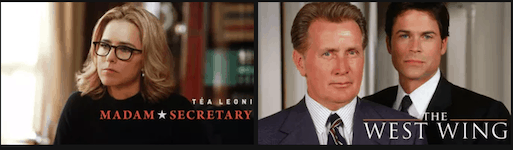 Madam Secretary and West Wing
