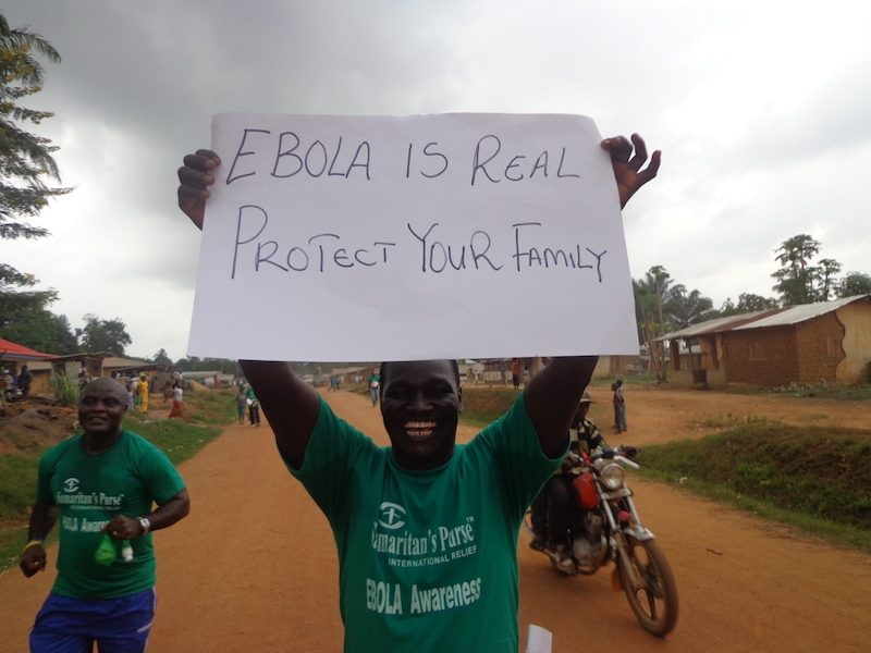 Raising awareness of Ebola