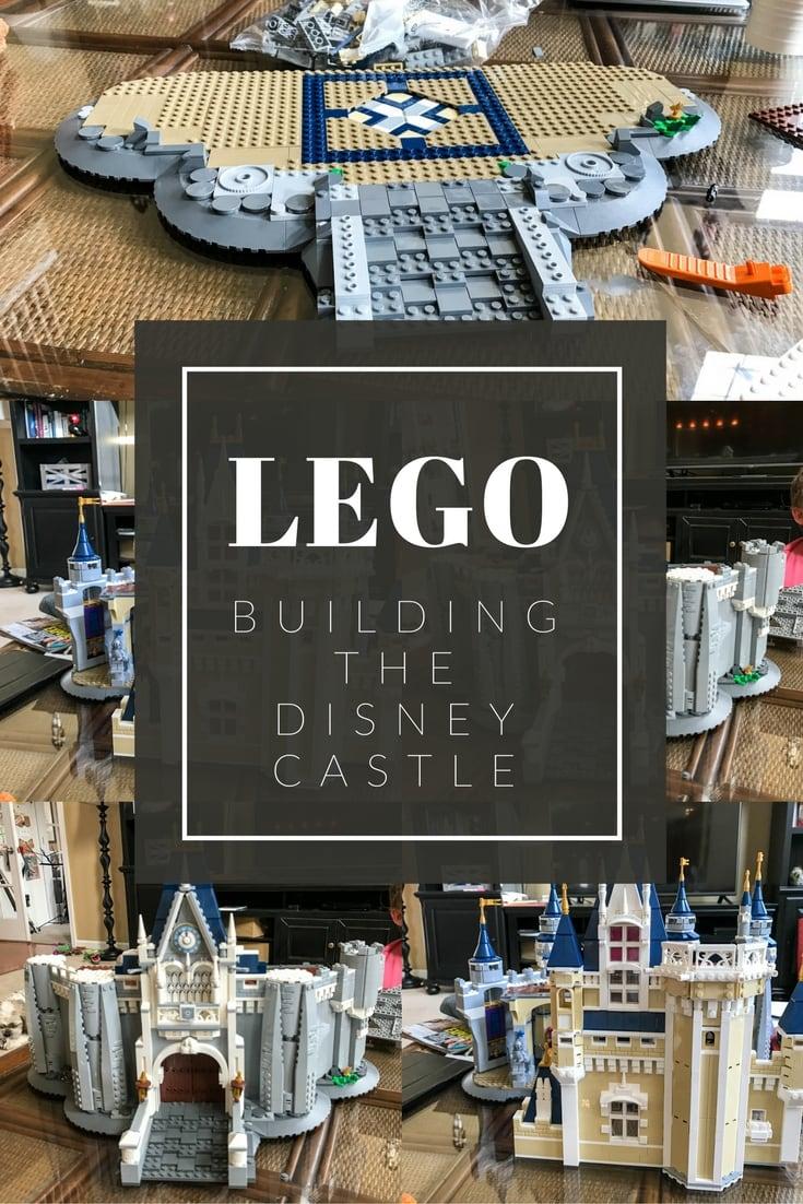 Building the LEGO Disney Castle