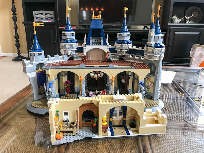 Building The Lego Disney Castle Bag By Bag All Things Fadra