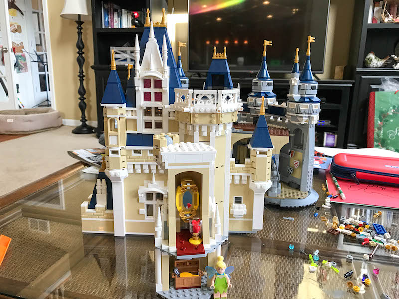 LEGO Disney Castle - Bag 13 rear