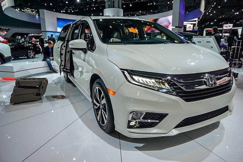 Honda Odyssey front